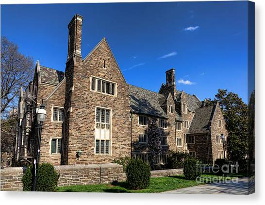 Princeton University Canvas Print - Princeton University Pyne Hall by Olivier Le Queinec