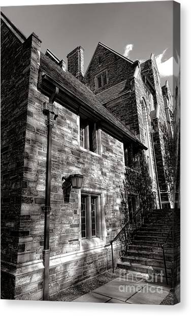 Princeton University Canvas Print - Princeton University Pyne Hall Stairs by Olivier Le Queinec