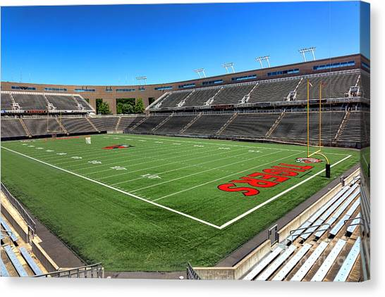 Princeton University Canvas Print - Princeton University Stadium Powers Field by Olivier Le Queinec