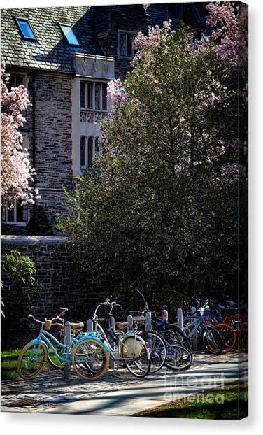 Princeton University Canvas Print - Princeton University Student Life by Olivier Le Queinec
