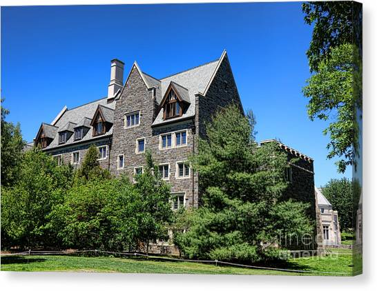 Princeton University Canvas Print - Princeton University Whitman College 1981 Hall by Olivier Le Queinec