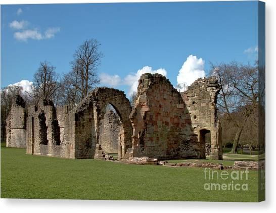 Priory Ruins Canvas Print