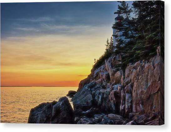 Prismatic Sunset Canvas Print by Zev Steinhardt