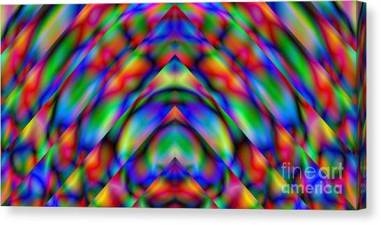 Prisms 339 Abstract Canvas Print by Rolf Bertram