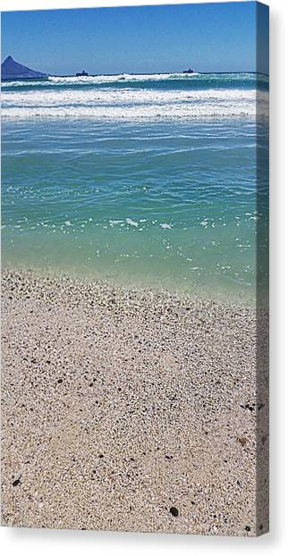 South African Canvas Print - Pristine Beach  by Sinead  Jason