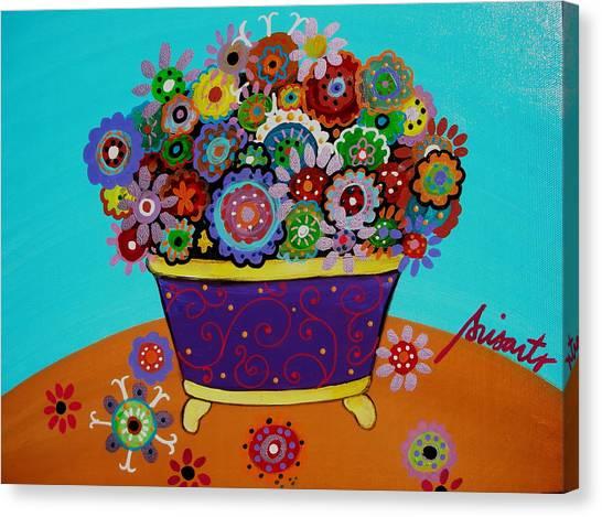 Pristine Flowers Canvas Print
