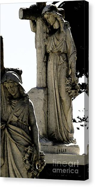 Procession Of Faith Canvas Print