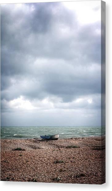 Projekt Desolate Paddle Canvas Print by Stuart Ellesmere