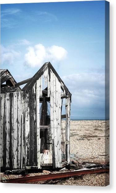 Projekt Desolate Safehouse Canvas Print by Stuart Ellesmere