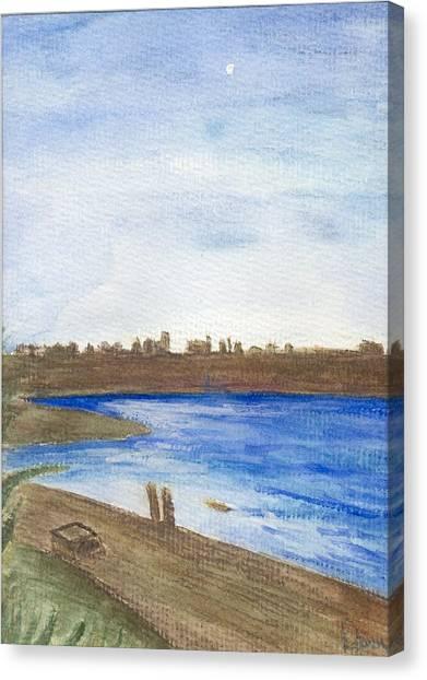 Promenade Canvas Print by Dawn Marie Black