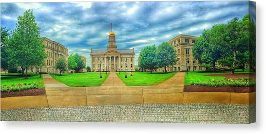 Iowa State University Canvas Print - Promise Of Futures by Jame Hayes