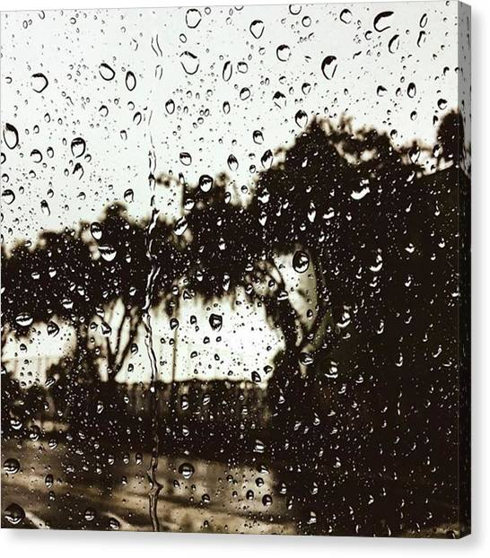 Wet Canvas Print - Promises  by Leah McPhail