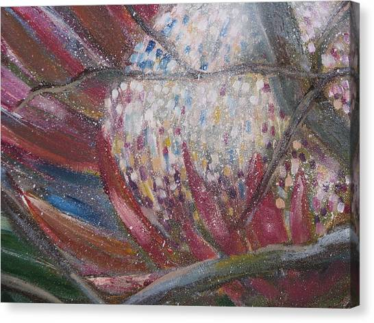 Protea Scent Canvas Print by Penny Faulhammer