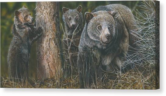 Protective Mother Canvas Print