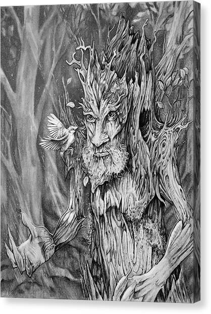 World Of Warcraft Canvas Print - Protector Of The Forest by Aaron Spong