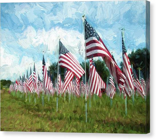 Proud And Free Canvas Print