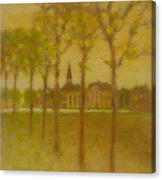 Provence Autumn Canvas Print by Gary Kaemmer