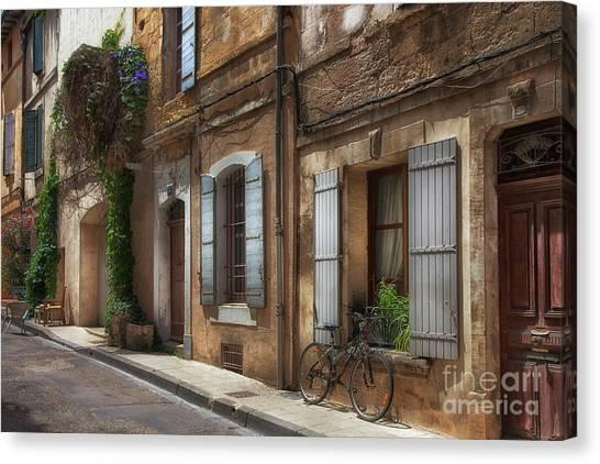 Provence Street Scene Canvas Print