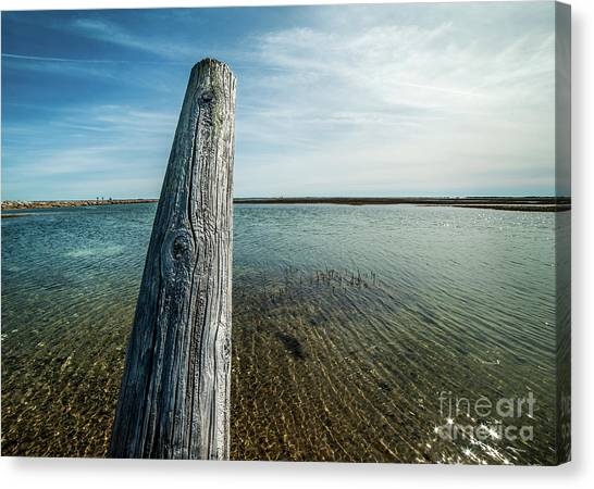 Provincetown Breakwater #2 Canvas Print