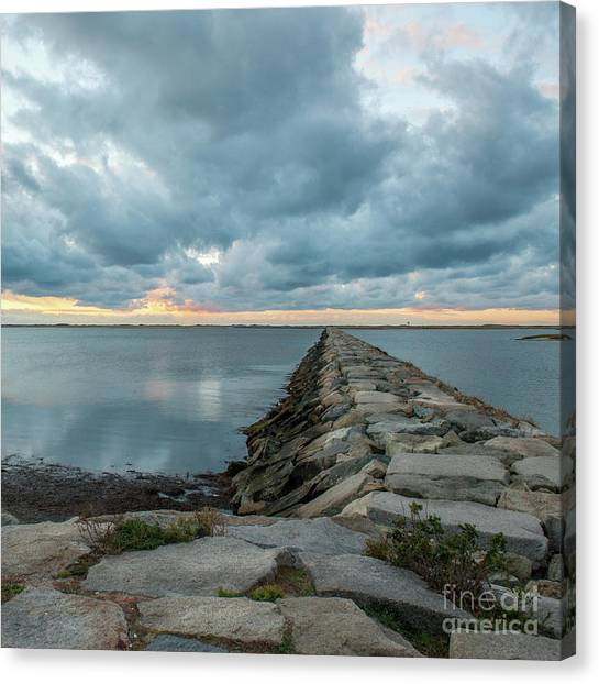 Provincetown Breakwater #3 Canvas Print