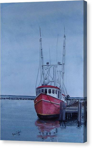 Provincetown Portuguese Canvas Print by Haldy Gifford