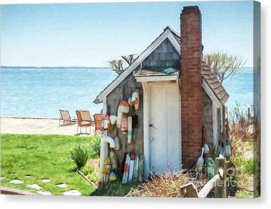 Provincetown Shed Canvas Print