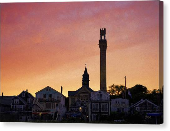 Provincetown Sunset Canvas Print