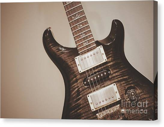 Paul Reed Smith Canvas Print - Prs Guitar by AJ Novak