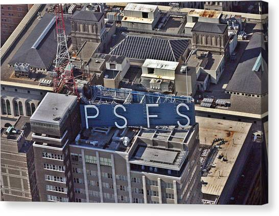 Psfs Building Canvas Print by Duncan Pearson