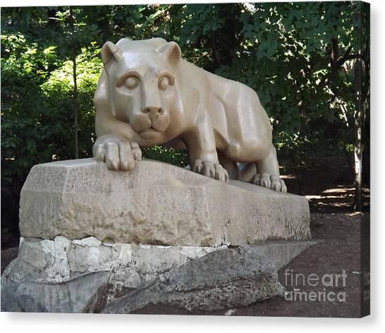 Pennsylvania State University Canvas Print - Psu Nittany Lion by Chad Thompson
