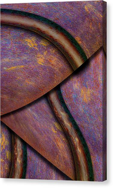 Canvas Print featuring the photograph Psychedelic Pi by Paul Wear