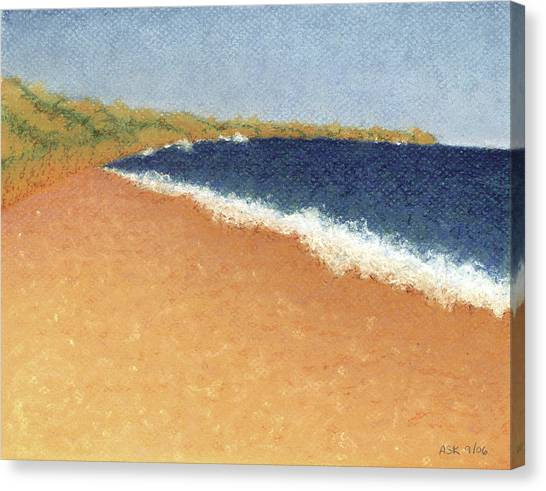 Pt. Reyes Beach Canvas Print