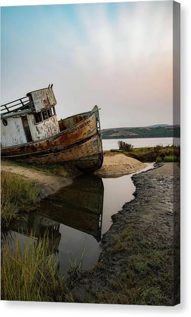Pt. Reyes Shipwreck 4 Canvas Print