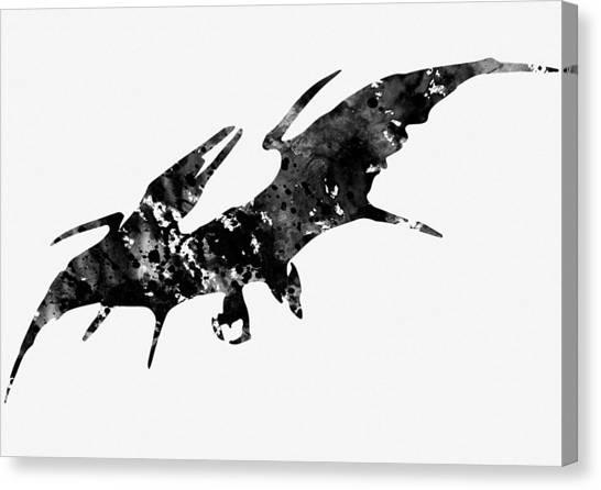 Pterodactyls Canvas Print - Pterodactyl by Erzebet S