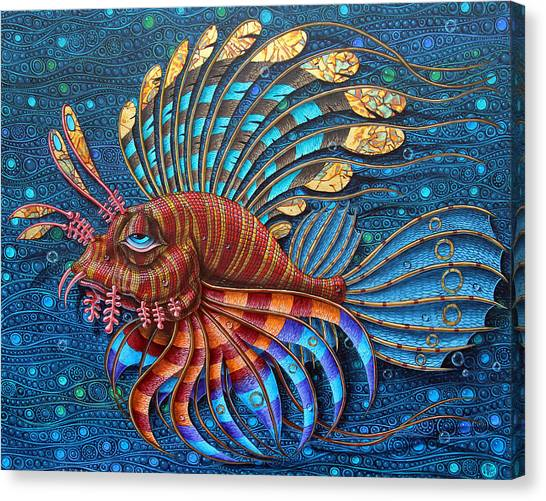 Pterois Canvas Print
