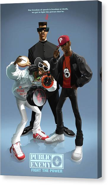 Public Enemy Canvas Print
