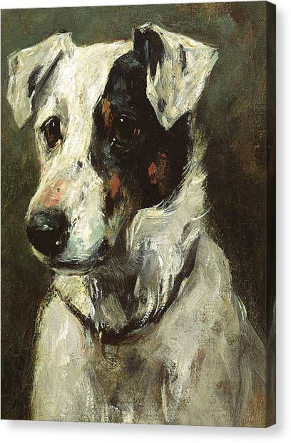 Doggy Canvas Print - Puck by John Emms
