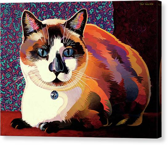 Faa Canvas Print - Puddin by Bob Coonts