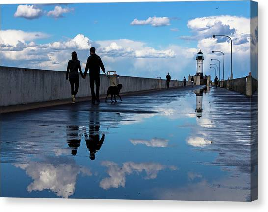 Canvas Print - Puddle-licious by Mary Amerman