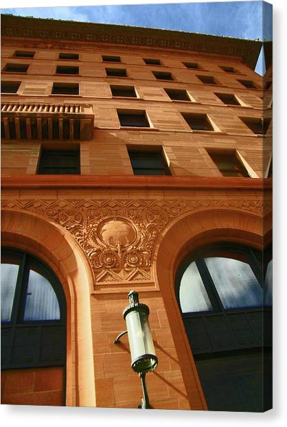 Pueblo Downtown Thatcher Building 2 Canvas Print