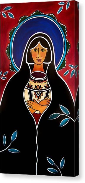 Pueblo Madonna Canvas Print
