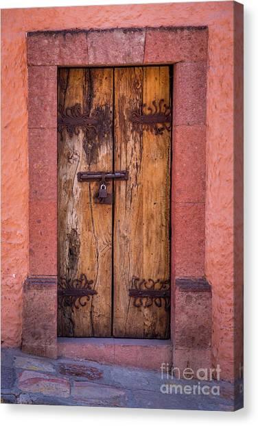 Guanajuato Canvas Print - Puerta Vieja by Inge Johnsson