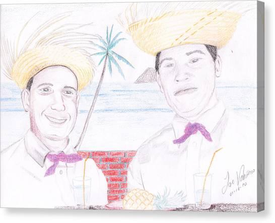 Puertorican Friends Canvas Print