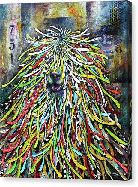 Hungarian Sheepdog Canvas Print