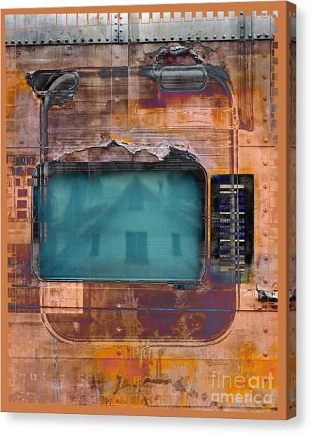 Pullman Reflections Canvas Print by Chuck Brittenham