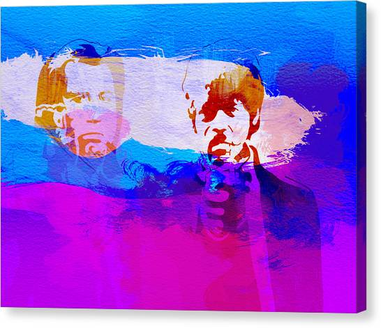 Pulp Fiction Canvas Print - Pulp Fiction by Naxart Studio