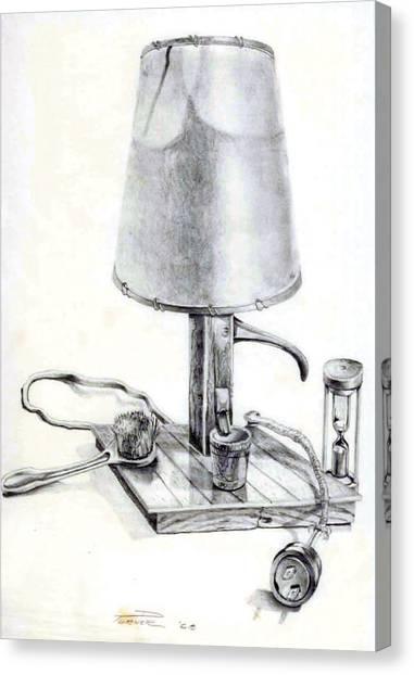 Pump Lamp Canvas Print
