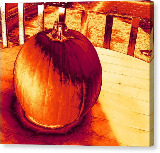 Pumpkin #3 Canvas Print