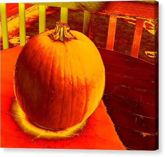 Pumpkin #4 Canvas Print