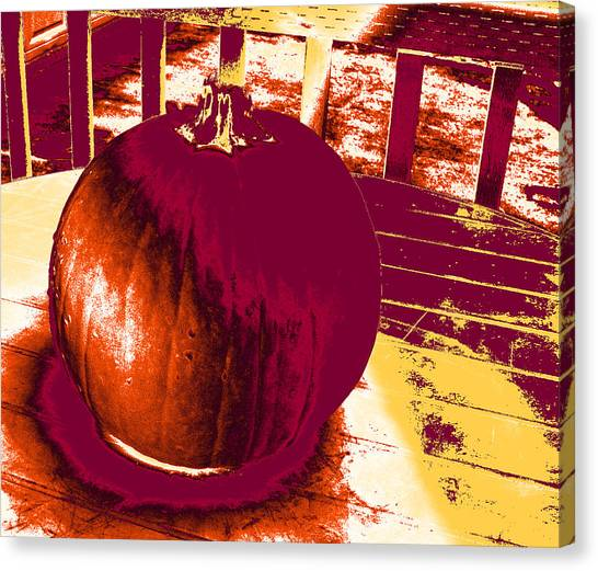 Pumpkin #5 Canvas Print